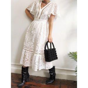 Dresses & Skirts - 🆕Finn Ivory Lace Midi Dress